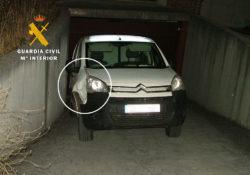 La Guardia Civil recupera un vehículo sustraído días antes en Zamora