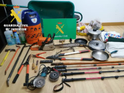 La Guardia Civil detiene al presunto autor de seis robos con fuerza en el Valle de Mena