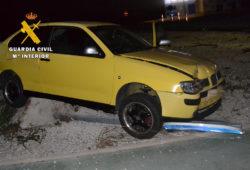 La Guardia Civil investiga a un conductor por negativa a realizar la prueba de alcoholemia