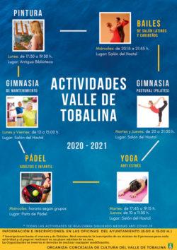 ACTIVIDADES DEPORTIVAS  CURSO 20-21