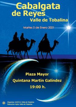 Este año la Cabalgata de Reyes en Tobalina será estática en la Plaza Mayor de Quintana Martín Galíndez