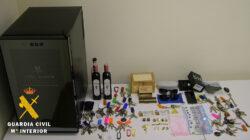 La Guardia Civil detiene al autor de un robo con fuerza en una vivienda