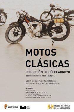 Exposición de Motos Clásicas en el Museo Historico de Medina de Pomar