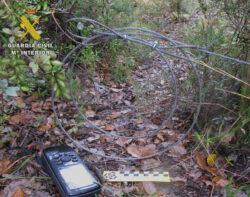 La Guardia Civil investiga a un furtivo por colocar lazos prohibidos para la caza en el Valle de Tobalina