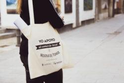 El Ayuntamiento de Medina de Pomar lanza una campaña de bolsas de apoyo al comercio local