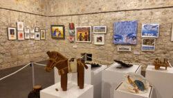 Medina de Pomar celebra el 8M con una exposición colectiva mujeres artistas