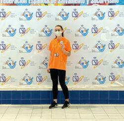 La medinesa Lucía Zorrilla Fernández consigue 7 medallas en el Campeonato de España de Salvamento