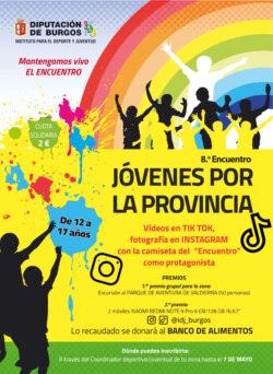 """El área de deportes del Ayuntamiento de Villarcayo organizará el 19 de junio el """"DÍA DEL DEPORTE"""" para mantener vivo el espíritu del """"Encuentro de Jóvenes"""" que anualmente organiza el IDJ"""