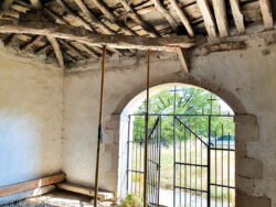 Los vecinos de Céspedes piden el arreglo urgente de su iglesia