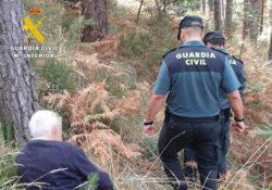 La Guardia Civil localiza con vida a un anciano desaparecido ayer en Ahedo de Linares