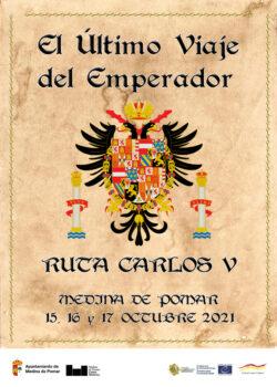 Programa Ruta de Carlos V en Medina de Pomar, 15, 16 y 17 octubre