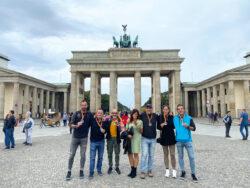 """Seis deportistas de """"Corriendo por Villarcayo"""" participan en la Maratón de Berlín"""